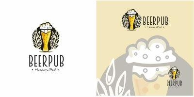 Beer Pub Logo
