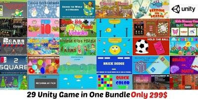Unity Unlimited Bundle - 29 Unity Games
