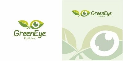 Green Eye Logo