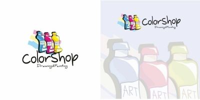 Color Shop Logo