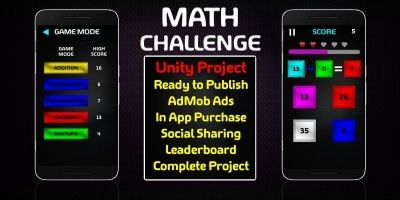 Math Challenge - Unity Source Code