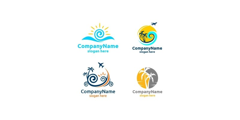 Travel and Tourism Logo for Hotel and Vacation
