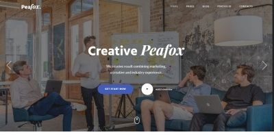 Peafox - Multipurpose Creative Template