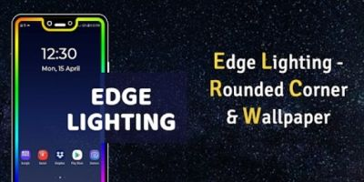 Edge Lighting - Rounded Corner Wallpaper Android