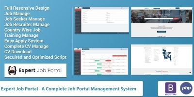 Expert Job Portal Management System