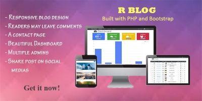 R Blog - Responsive Blog With Admin Panel