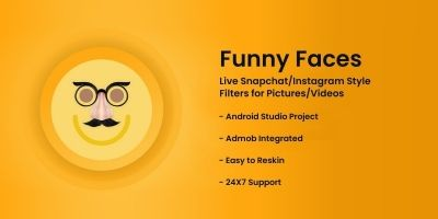 Funny Faces - Android Source Code