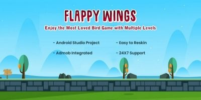 Flying Bird Game - Android Source Code