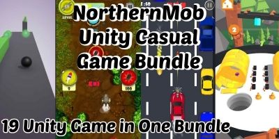 Unity Casual Game Bundle 1 - 15 Games in 1 Bundle