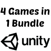 Unity Casual Game Bundle 2 - 4 Games in 1 Bundle
