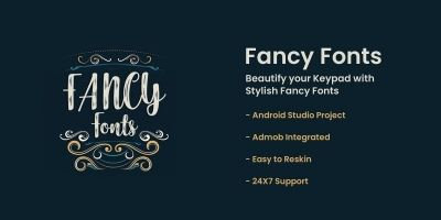Fancy Fonts - Android App Source Code