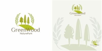Green Wood Logo