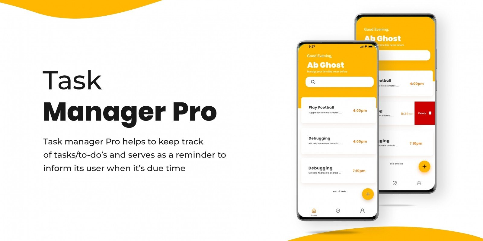 Task Manager Pro - Android Source Code