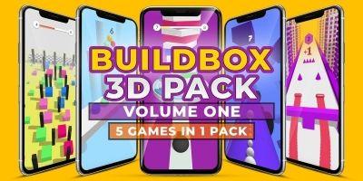 Buildbox 3D Pack - 5 In 1 - Volume One