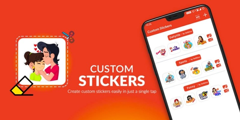 Custom Whatsapp Stickers - Android App Source Code
