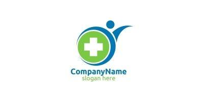 Health Care Cross Medical Hospital Logo