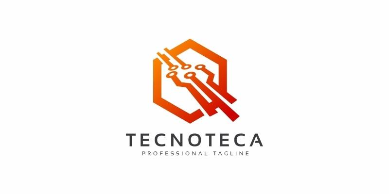 Technology Hexagon Logo