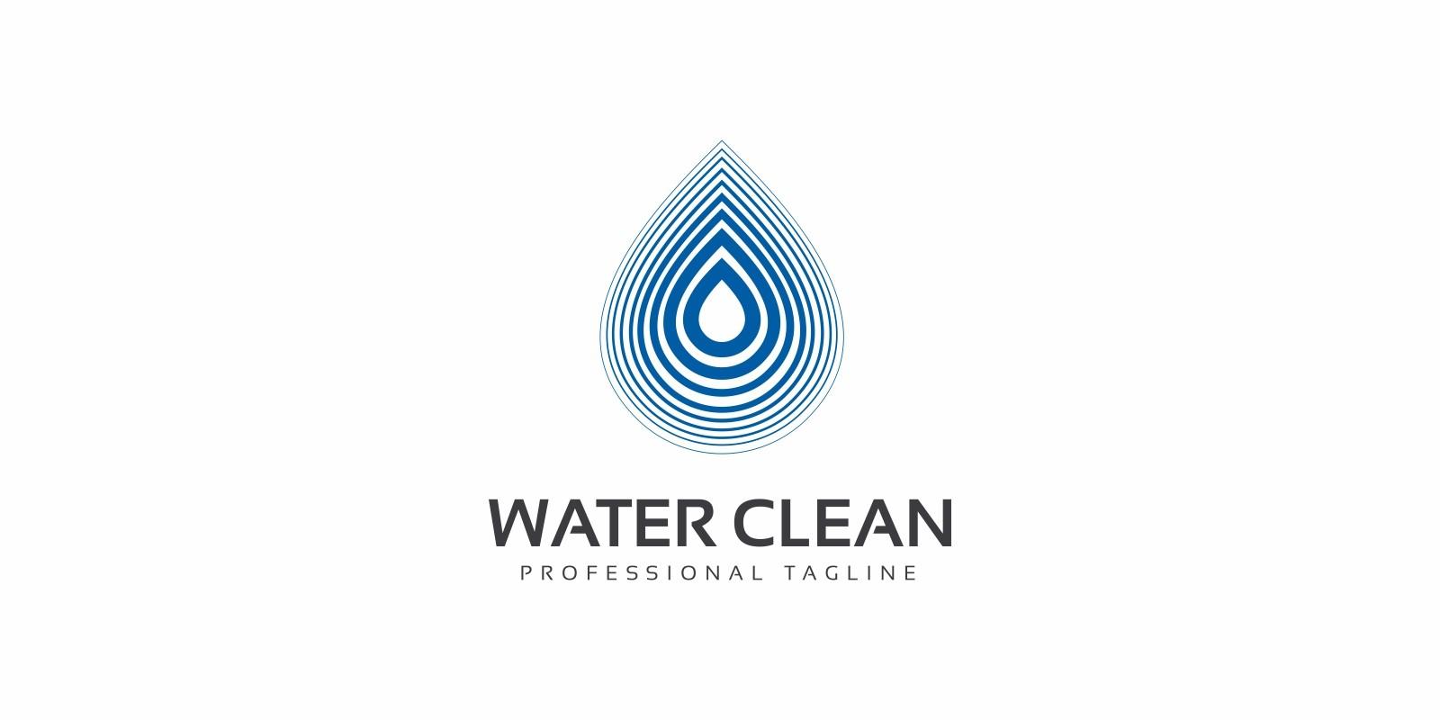 Water Clean Logo