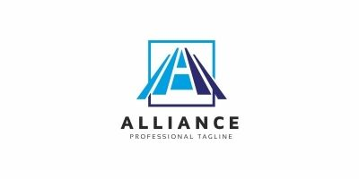 Alliance A Letter Logo