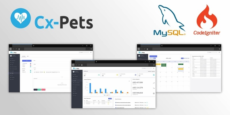 CX-Pets - Veterinary Management System For Pets