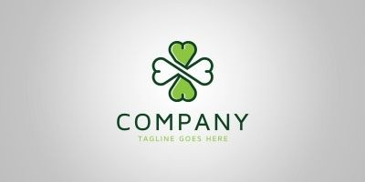 Infinity Clover  Logo Template
