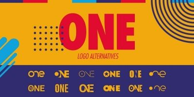 Number One Logo Set - 12 One Logo Alternatives