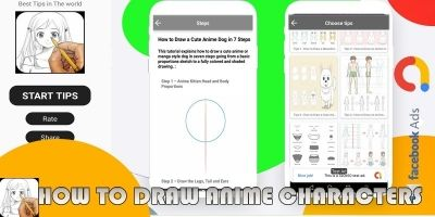 How To Draw Anime - Android App Source Code