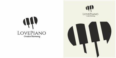 Love Piano Logo