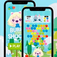 Bubble Shooter Style Game Gui Assets