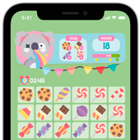 Candies Crush Match 3 Game Assets