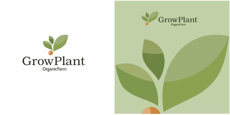 Grow Plant Logo