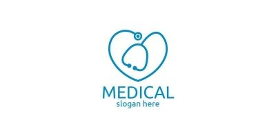 Love Cross Medical Hospital Logo Design