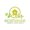 eco-house-logo-design