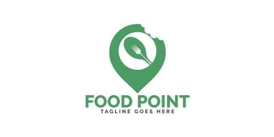 Food Point Logo Design