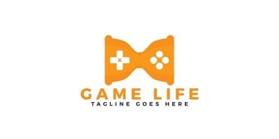 Game Life Logo Design