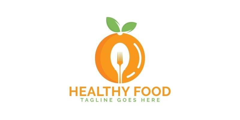 Healthy Food Logo Design