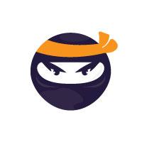 Ninja Character Vector Design