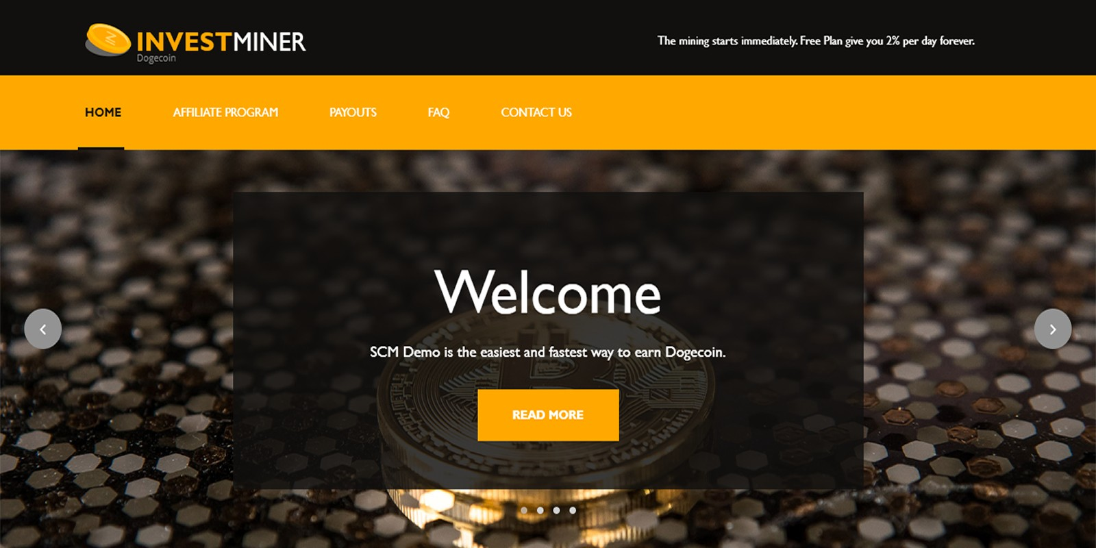 InvestMiner Theme For SCM Script