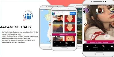 Japanese Pals - Tinder Style Dating App Android