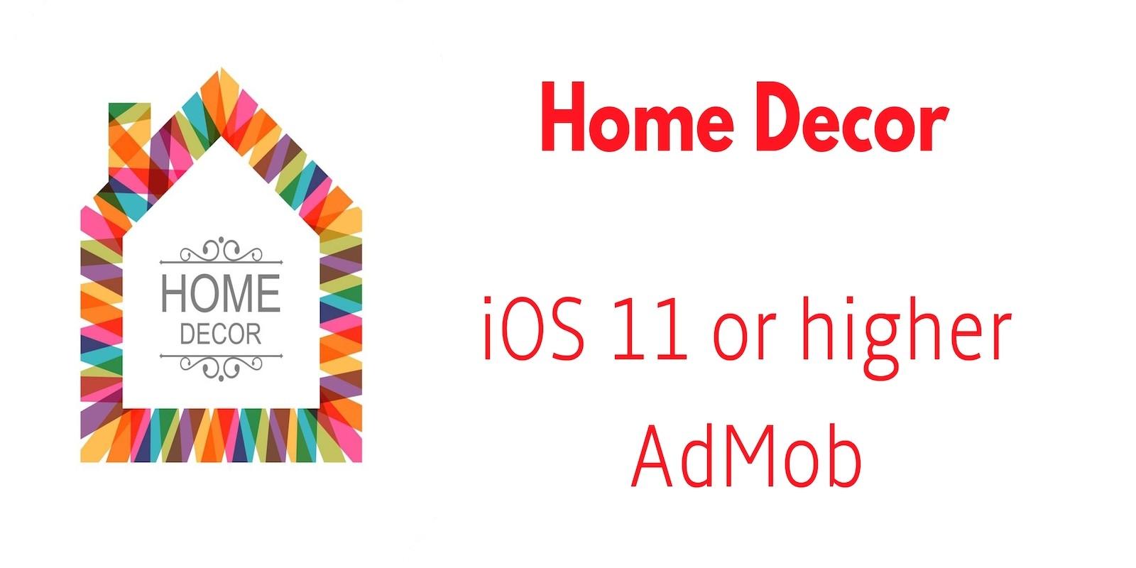 Home Decor - iOS App Source Code
