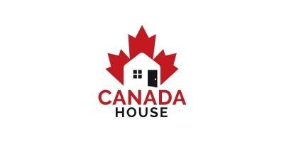 Canada House Logo Design