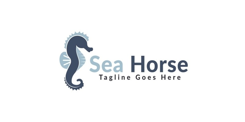 Sea Horse Logo Design.
