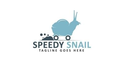 Speedy Snail Logo Design