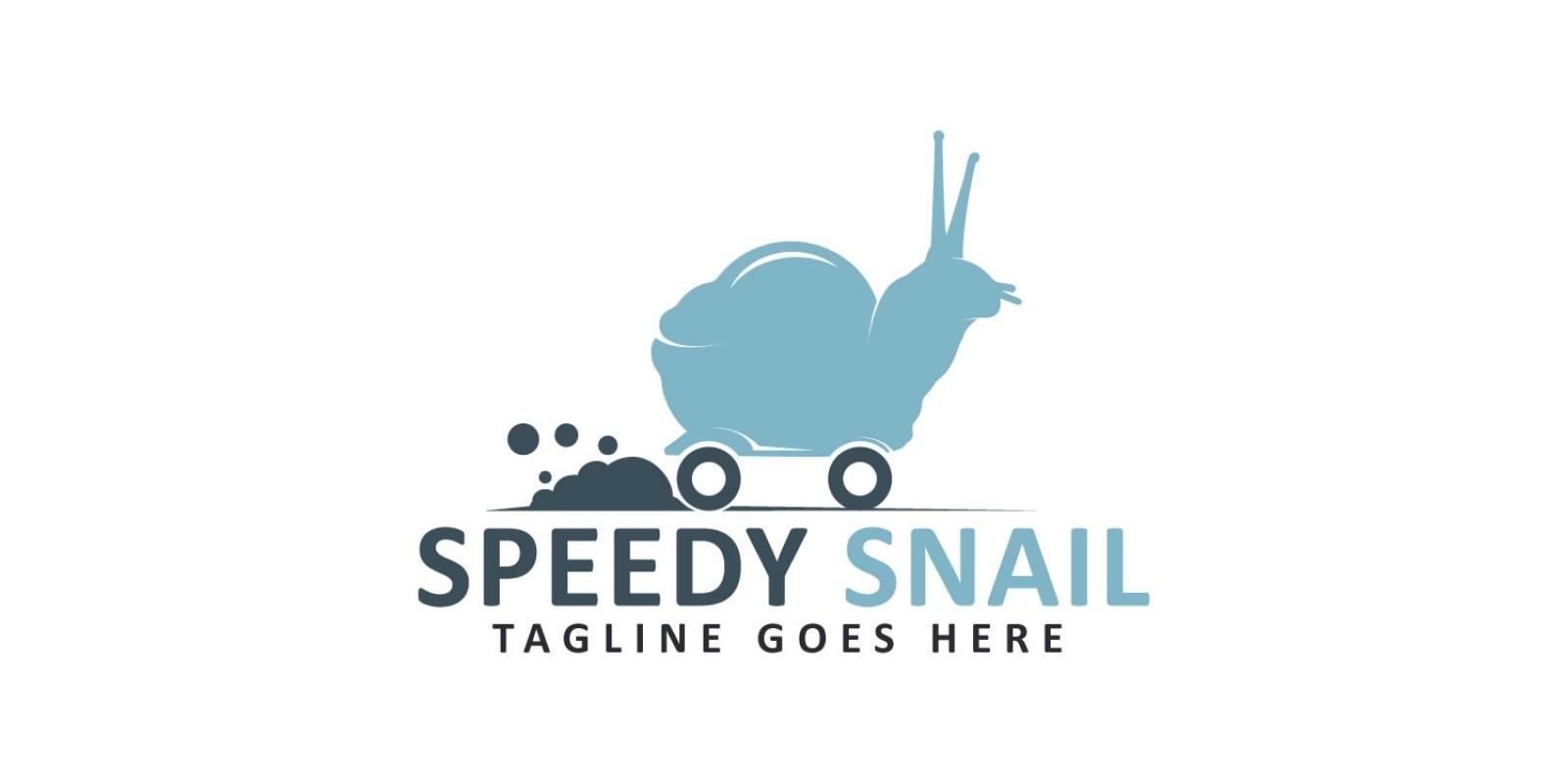 Speedy Snail Logo Design