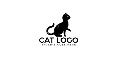 The Cat Logo Design.
