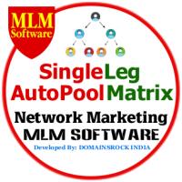 Single Leg MLM Software with 3x3 Auto Pool Matrix