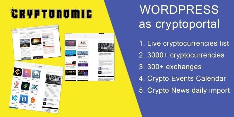 Cryptonomic Wordpress plugin