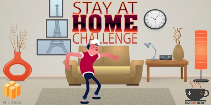 Stay At Home Challenge - Full Buildbox Game