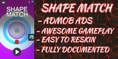 Shape Match - Unity Source Code