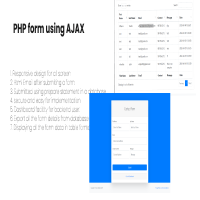 PHP Form Management Using AJAX